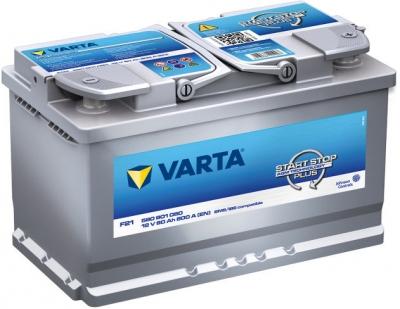F21 Varta Start-Stop Plus AGM Batterie de Voiture 12V 80Ah 580901080