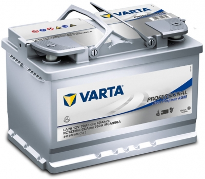 varta la70 professional agm accu online battery. Black Bedroom Furniture Sets. Home Design Ideas